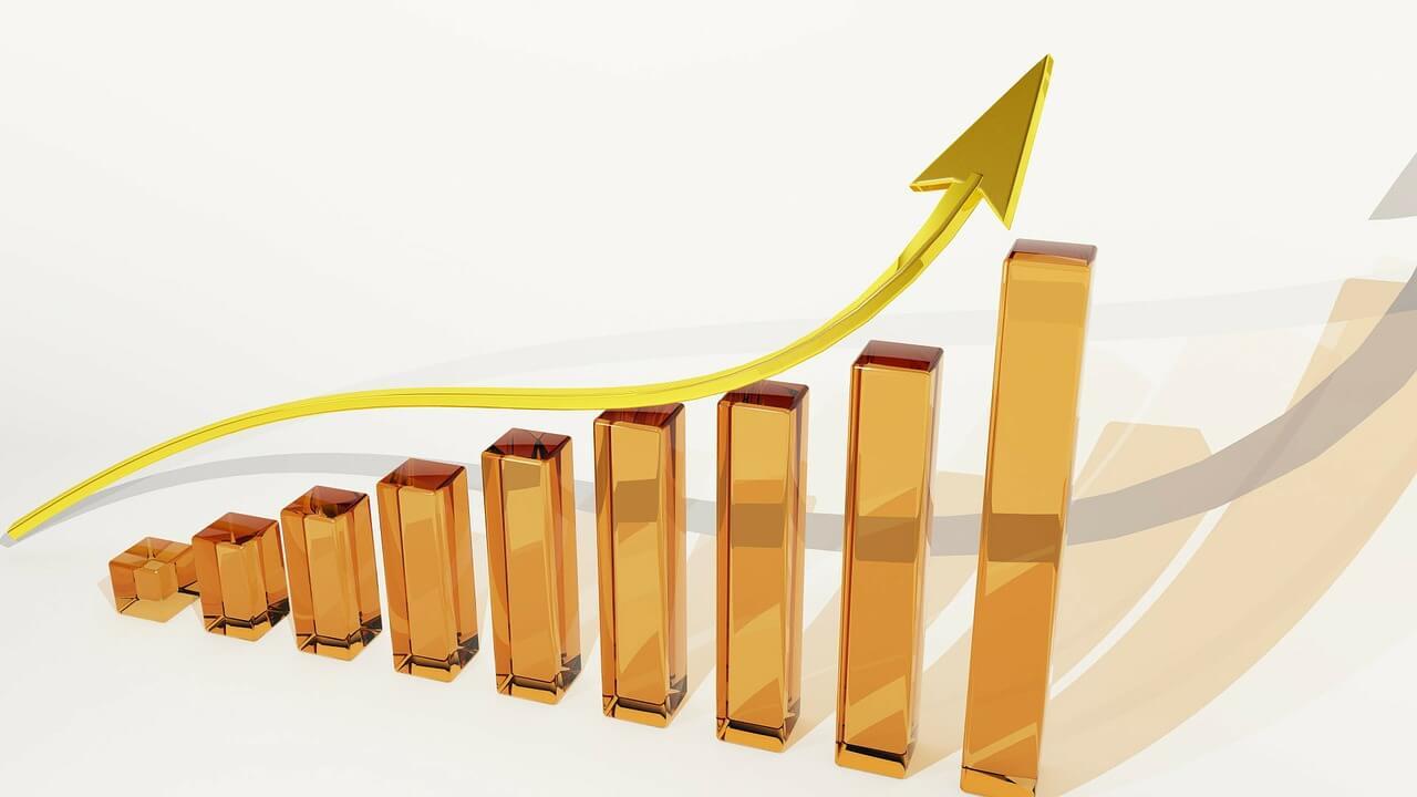 business finance graph